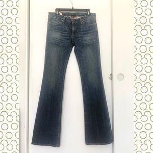 AG  bell bottom jeans